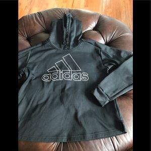 ADIDAS sweatshirt black hoodie